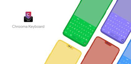 Chrooma Keyboard - RGB & Chameleon Theme APK